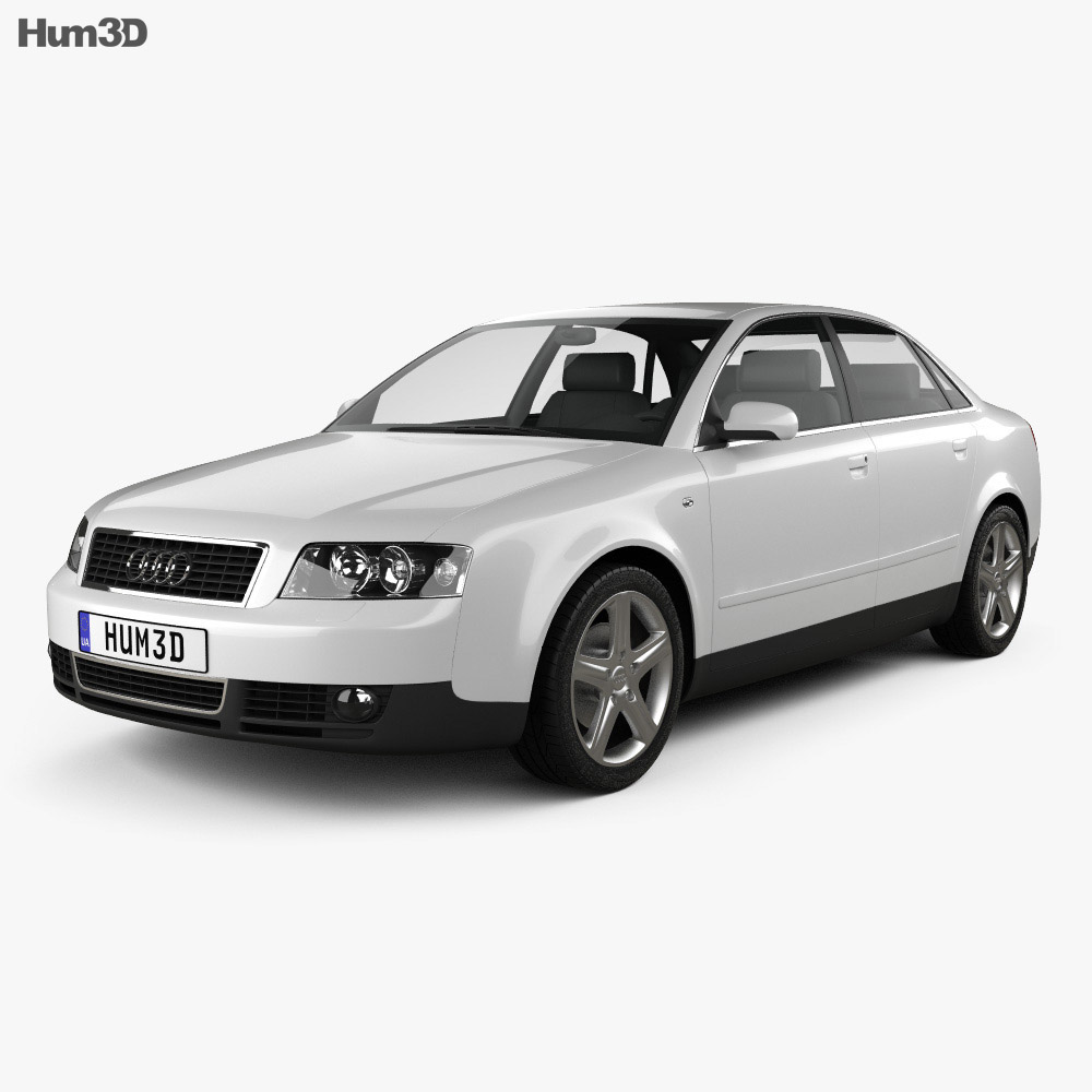 audi a4 b6 sedan 2002 3d model hum3d. Black Bedroom Furniture Sets. Home Design Ideas