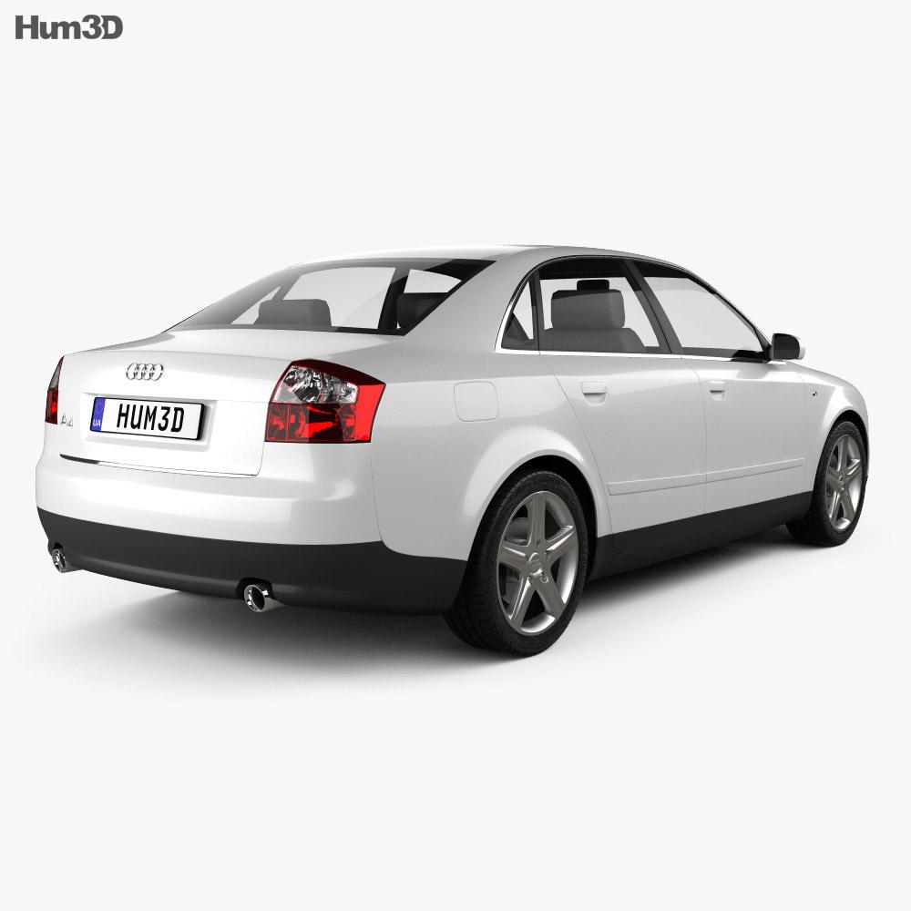 Audi A4 (B6) sedan 2002 3d model