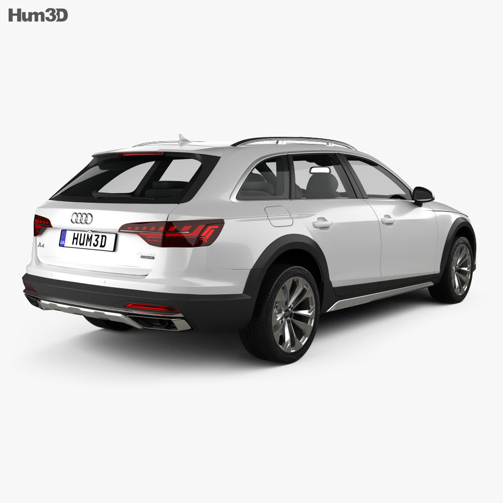 Audi A4 Allroad 2019 3d model