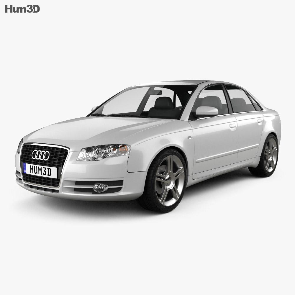 Audi A4 Saloon 2005 3d model