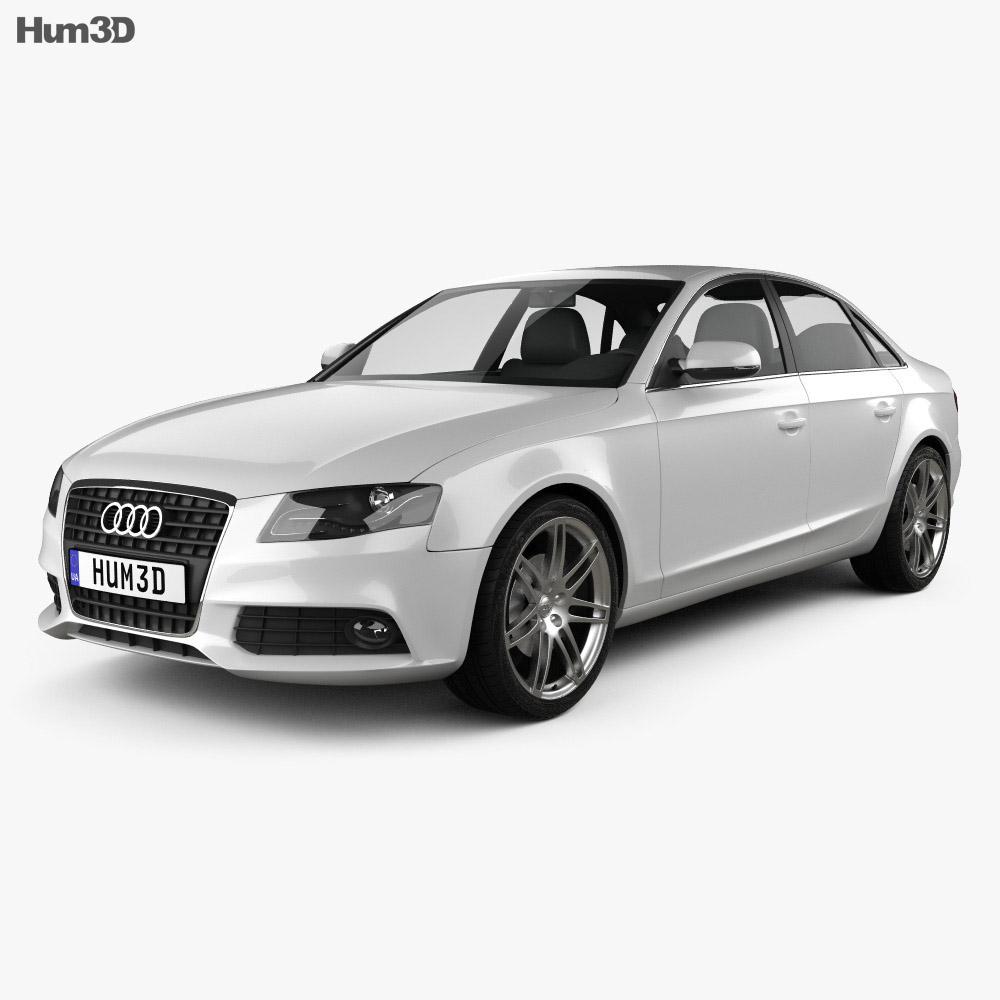 Audi A4 Saloon 2011 3d model