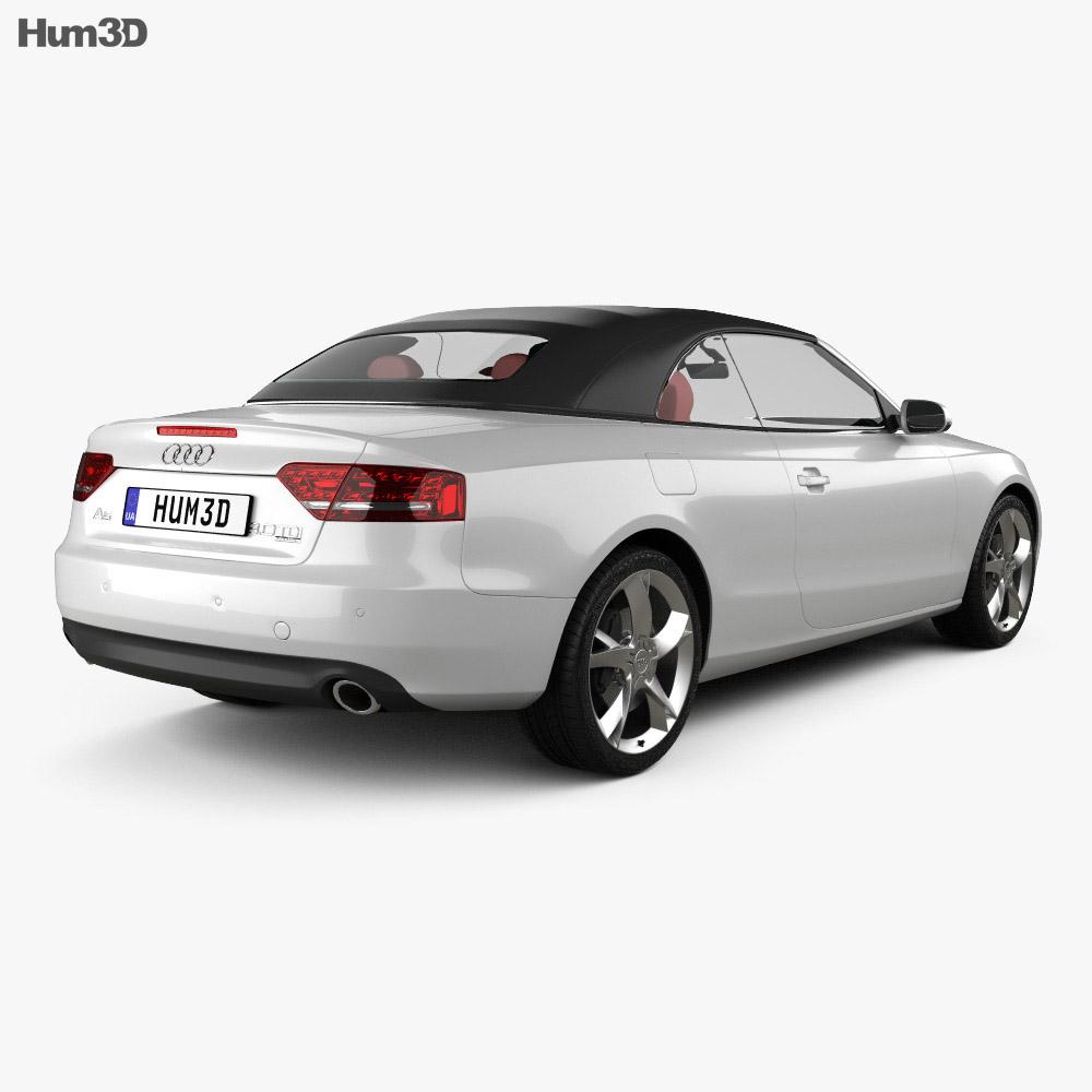 Audi A5 Convertible 2010 3d model