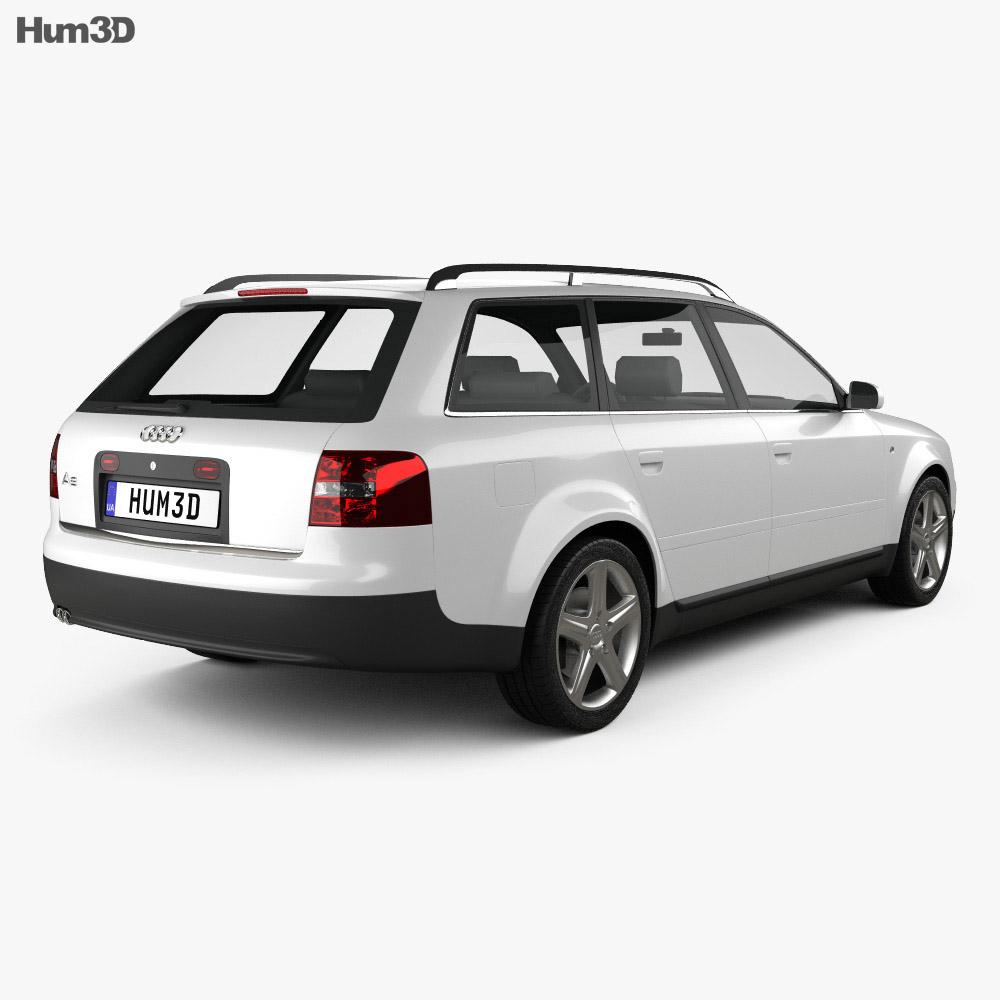 Audi A6 avant (C5) 2001 3d model