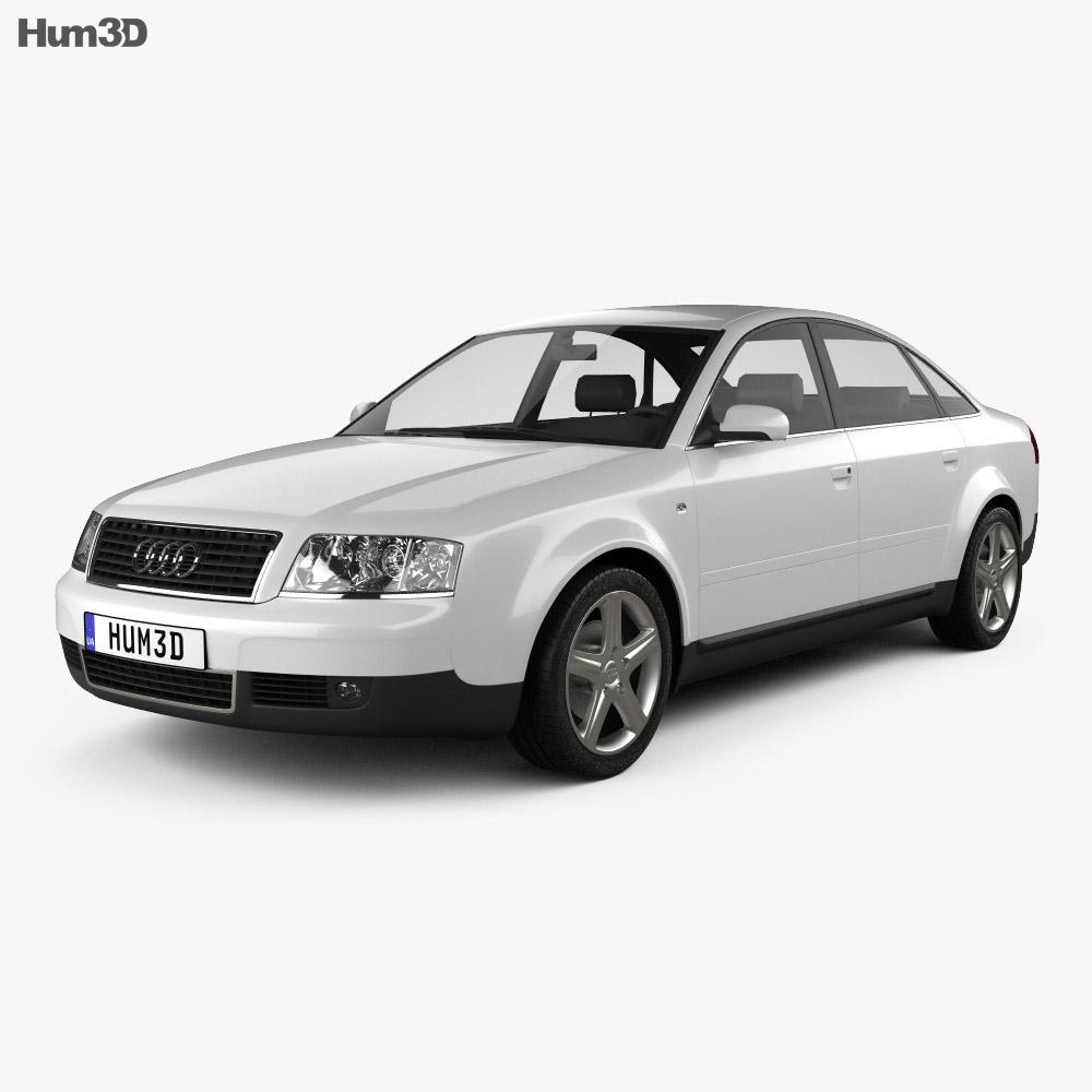 Audi A6 saloon (C5) 2001 3d model