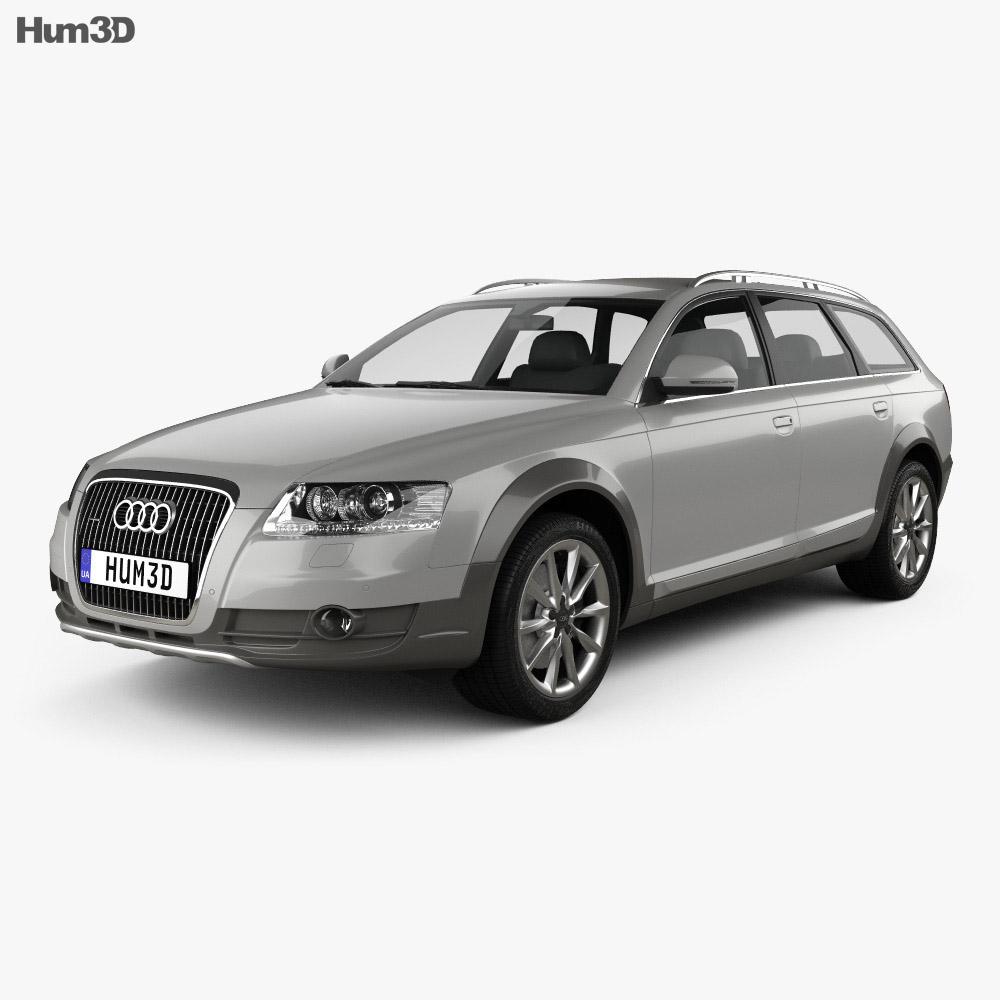 Audi A6 C6 Allroad 2006 3d Model Hum3d