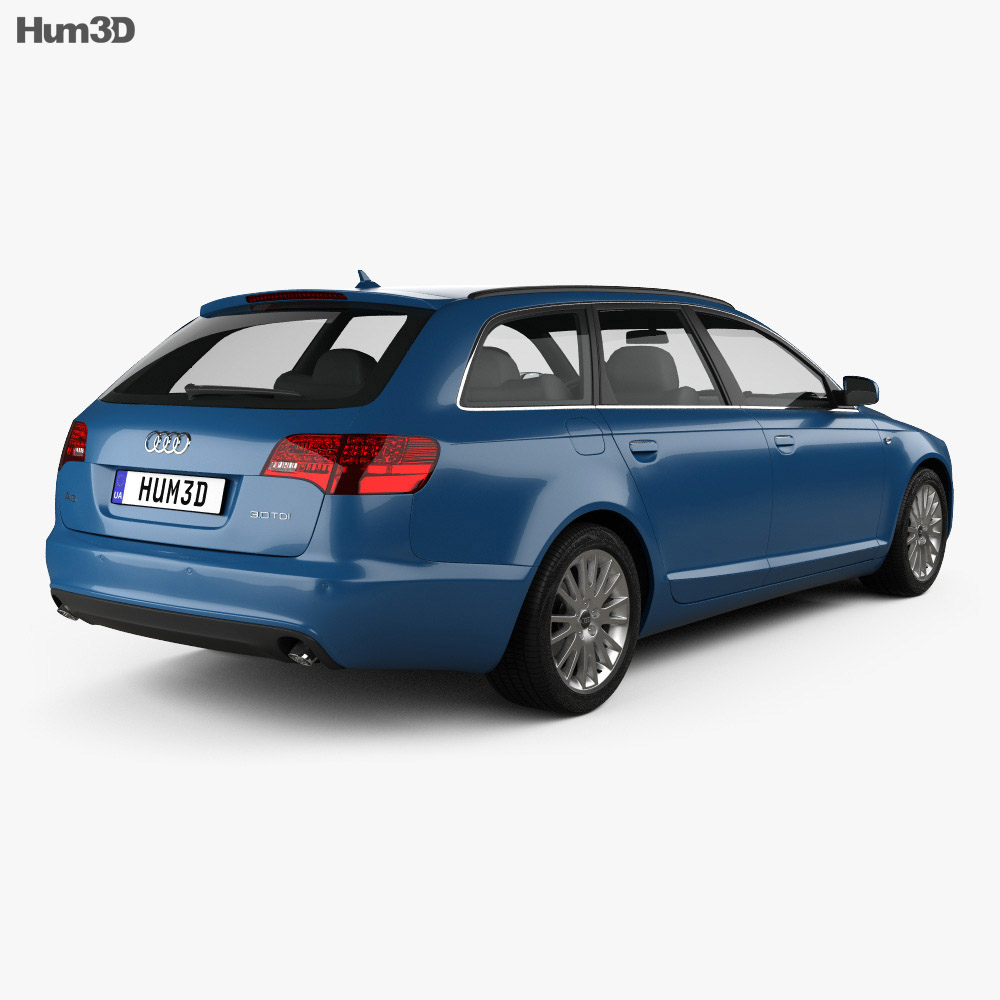 Audi A6 (C6) Avant 2005 3d model