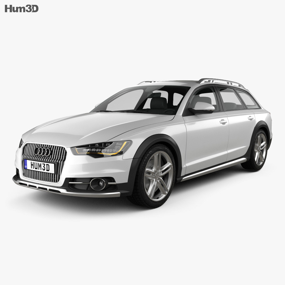 audi a6 c7 allroad quattro 2012 3d model vehicles on hum3d. Black Bedroom Furniture Sets. Home Design Ideas