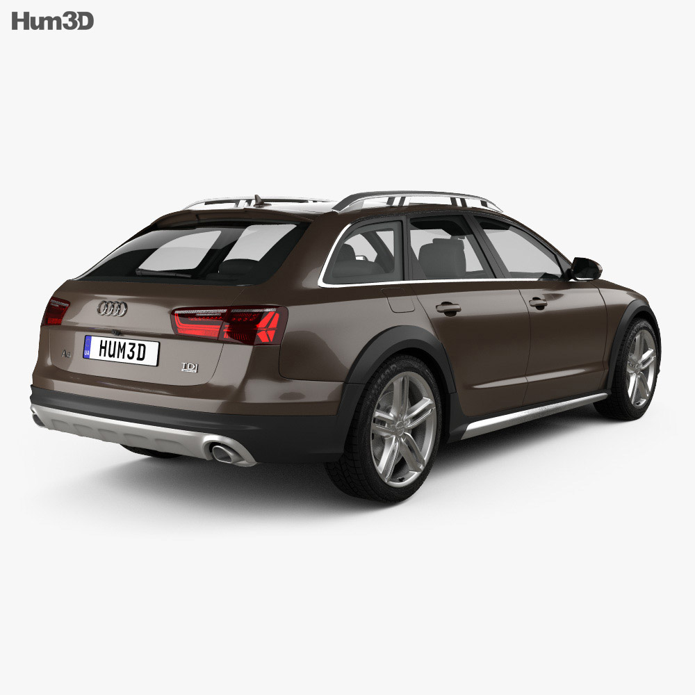 Audi A6 (C7) Allroad 2015 3d model