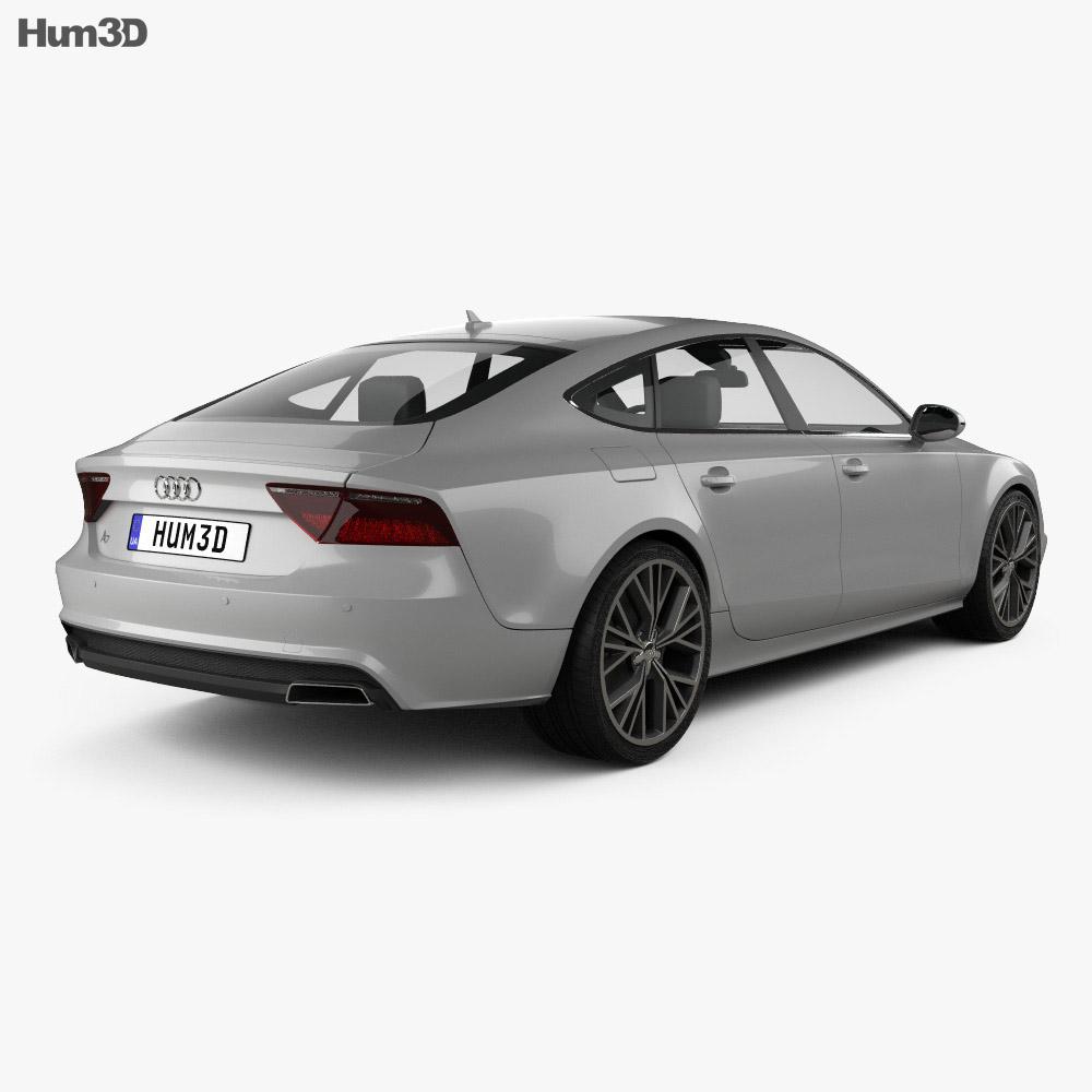 Audi A7 Sportback S-Line 2015 3d model