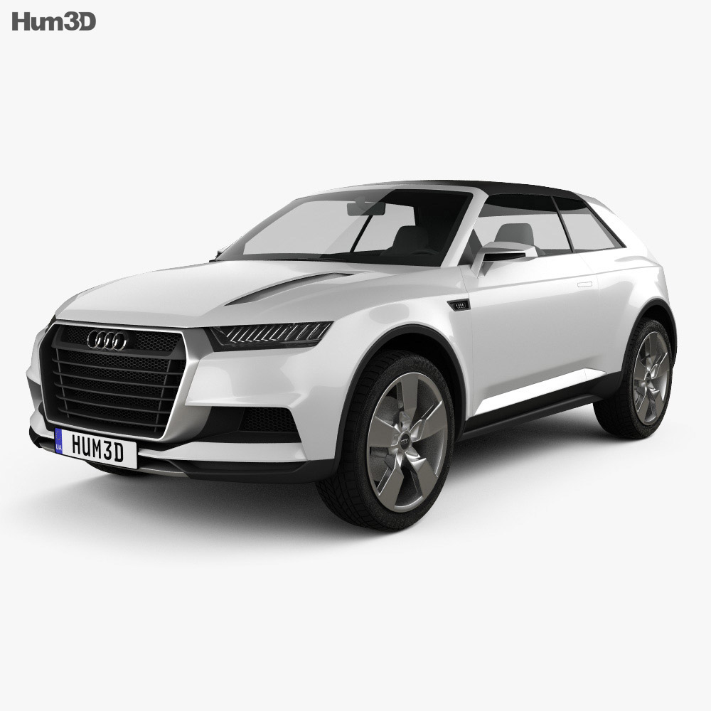 Audi Crosslane Coupe 2012 3D Model