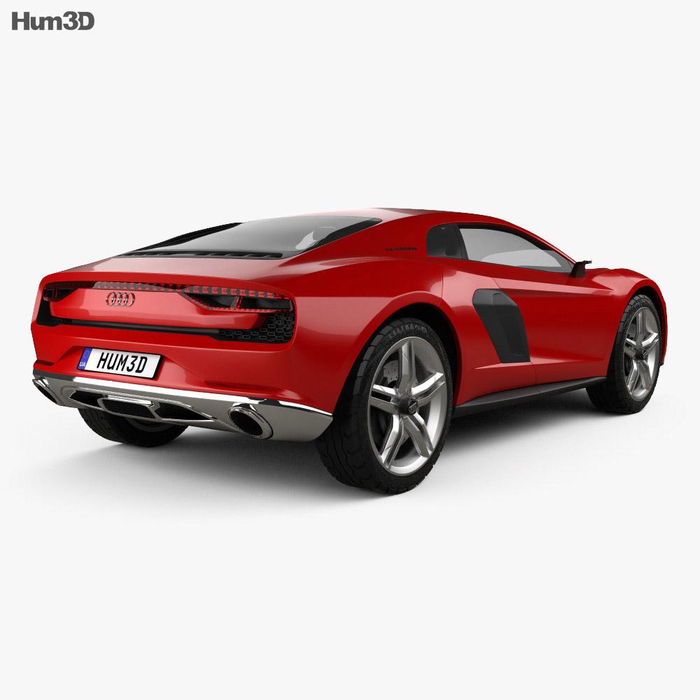 Audi Nanuk Quattro 2013 3d model