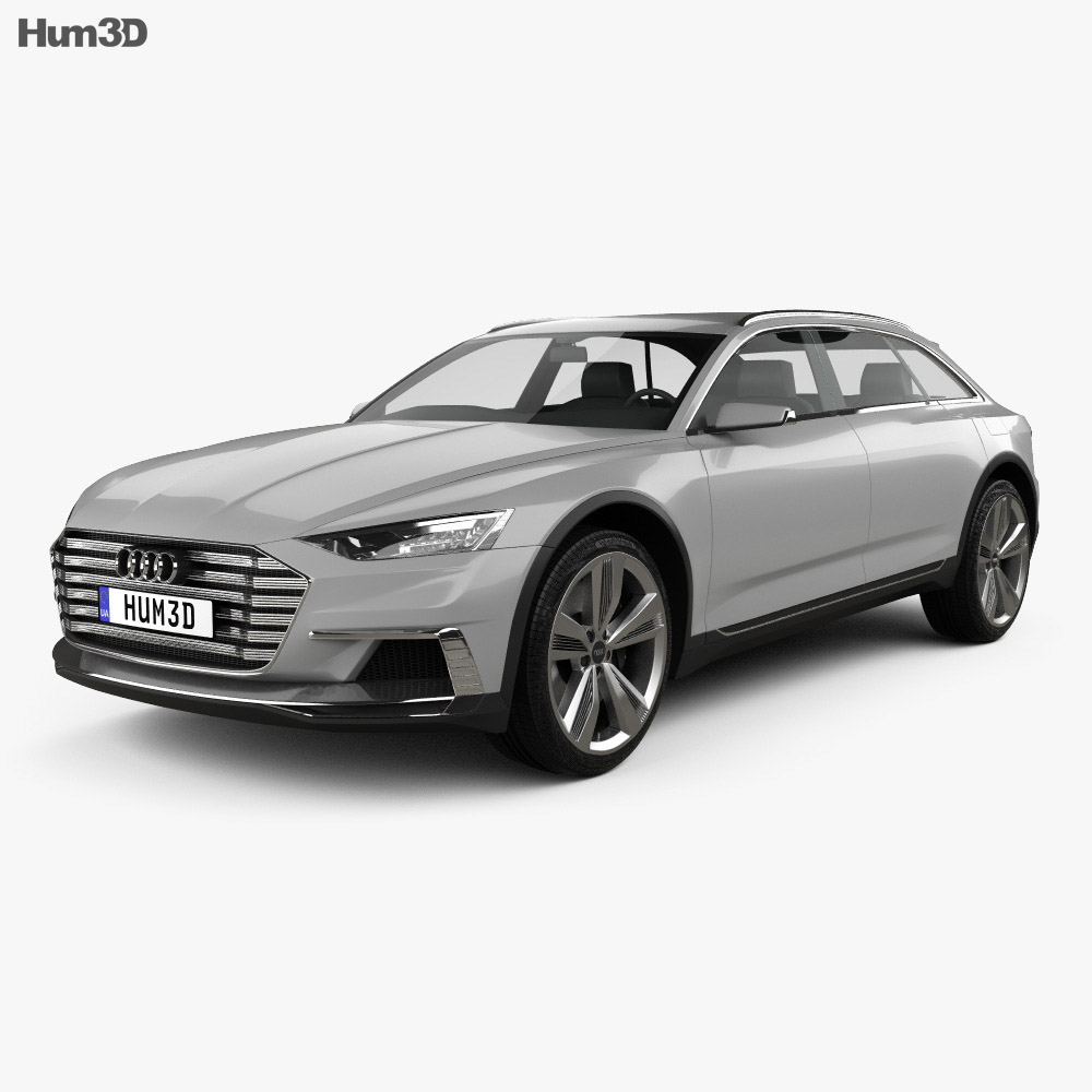 Audi Prologue Allroad 2015 3d model