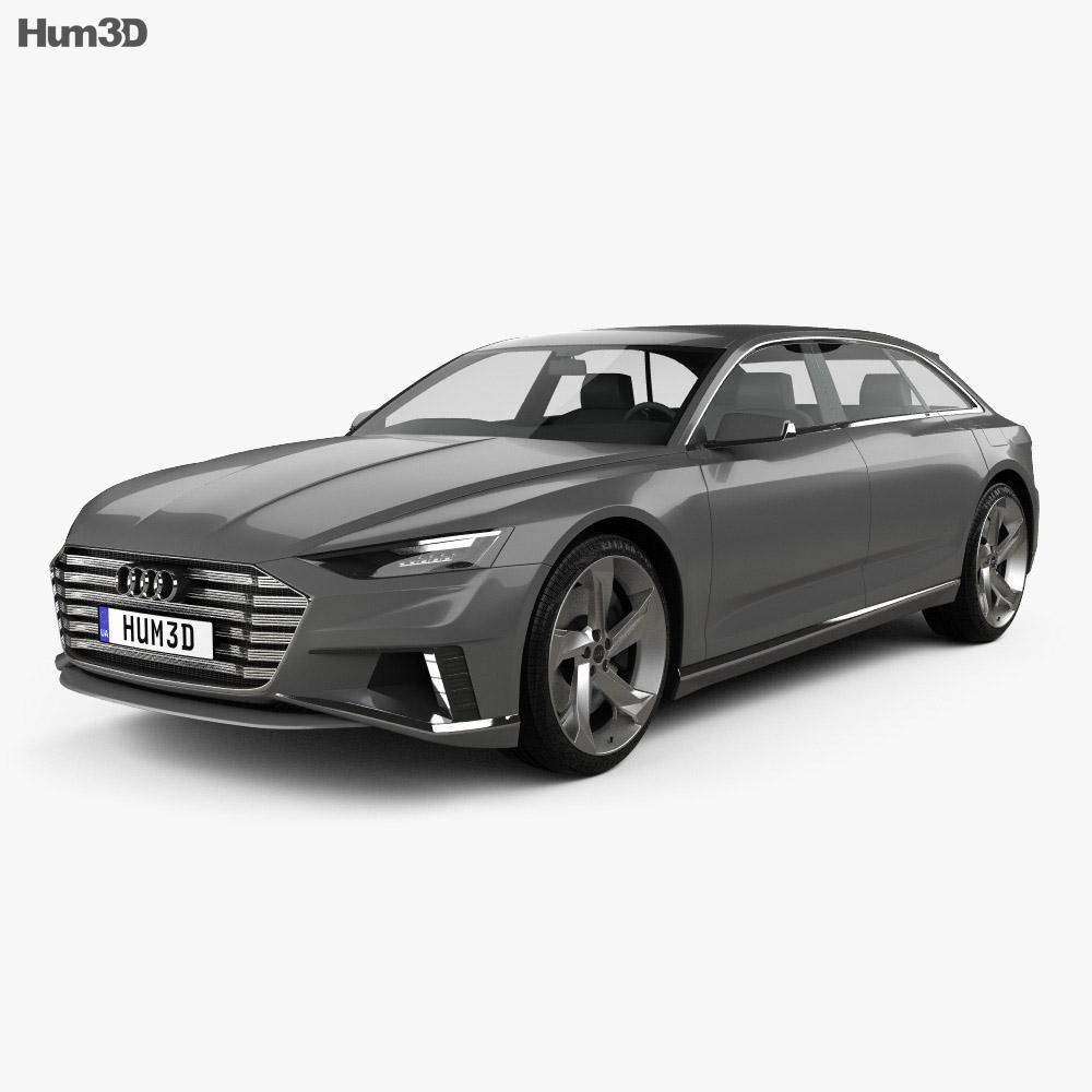 Audi Prologue Avant 2015 3d model