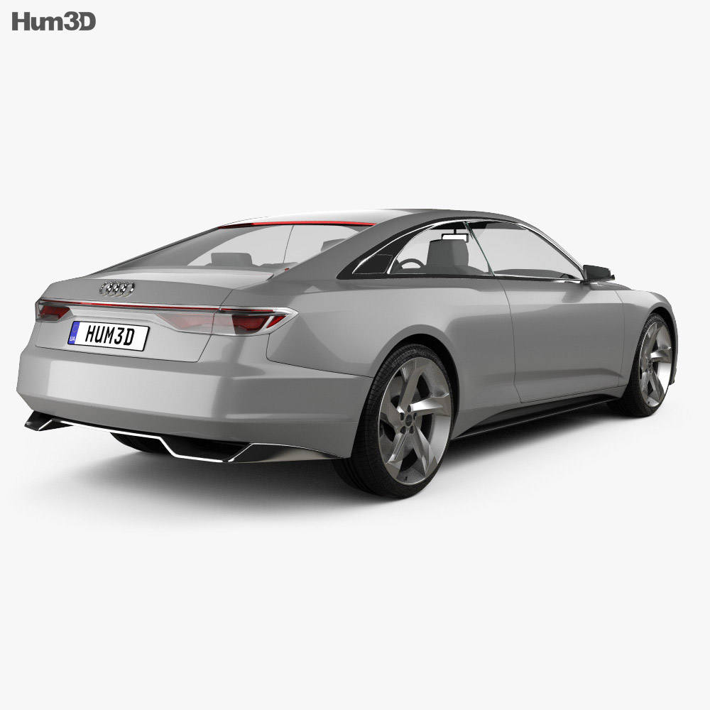 Audi Prologue Piloted Driving 2015 3d model