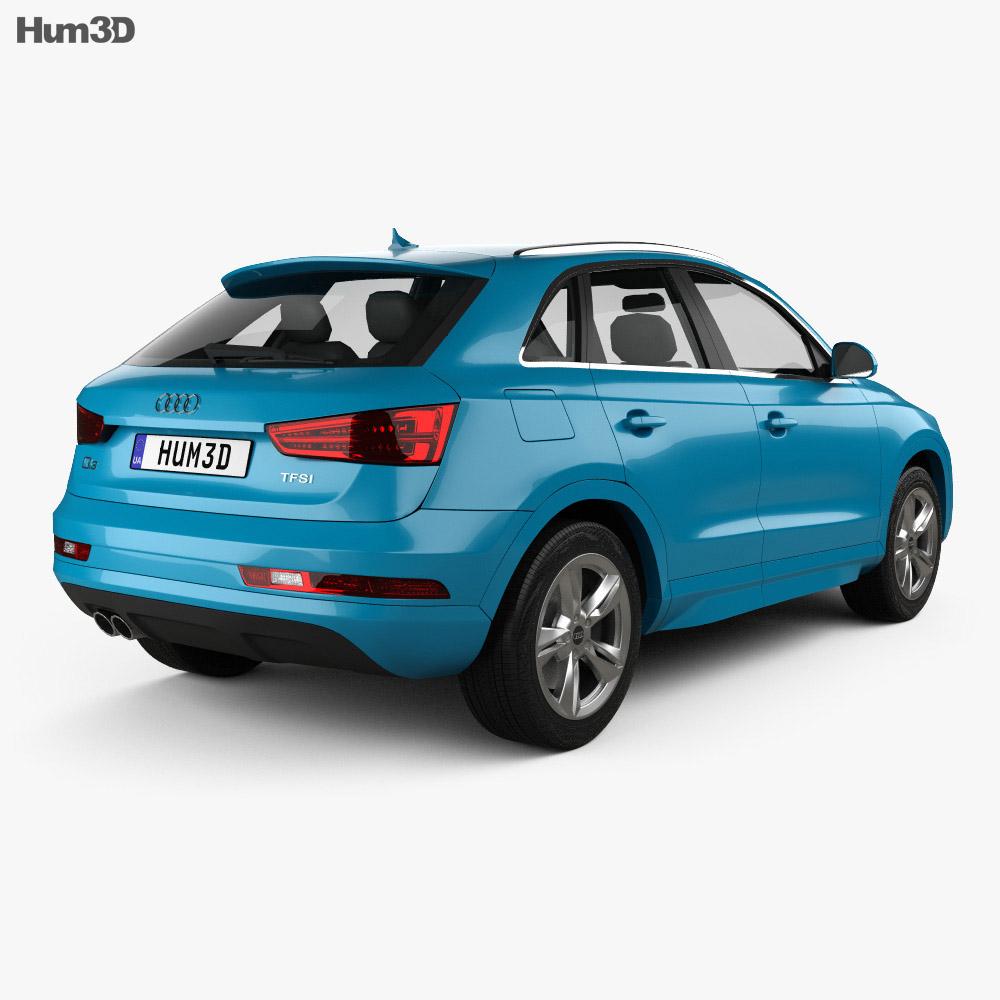 Audi Q3 2015 3d model
