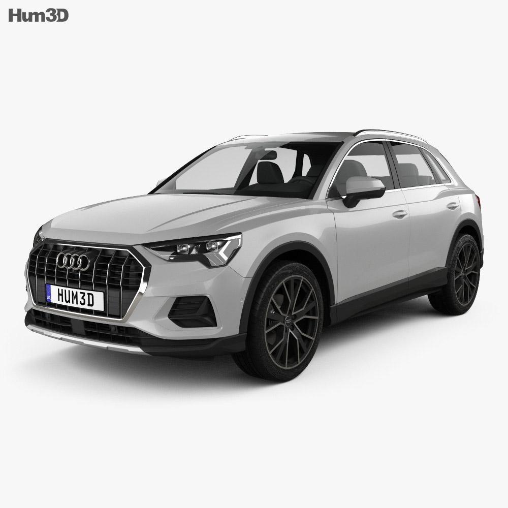 Audi Q3 Advanced 2018 3d model