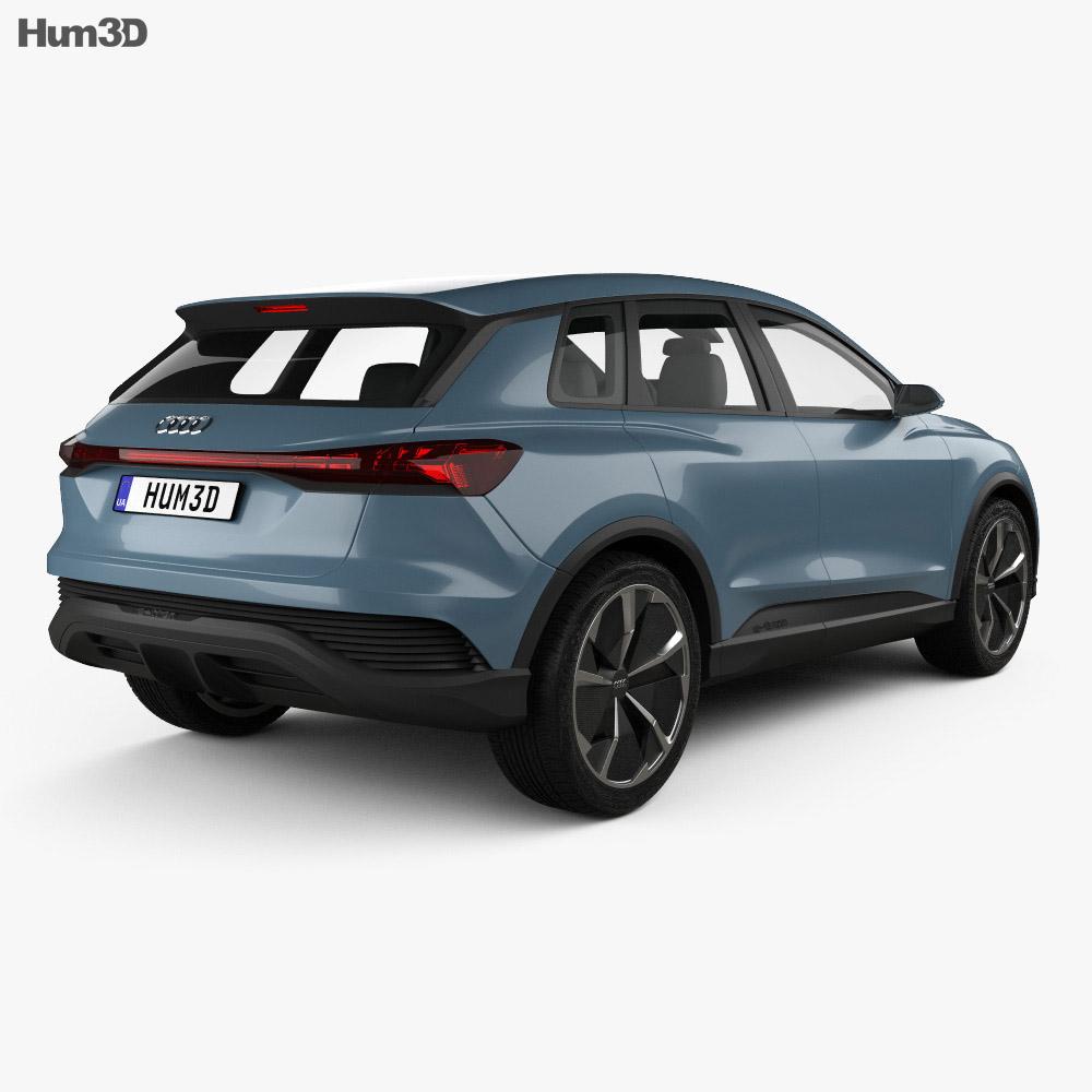 Audi Q4 e-tron 2019 3d model