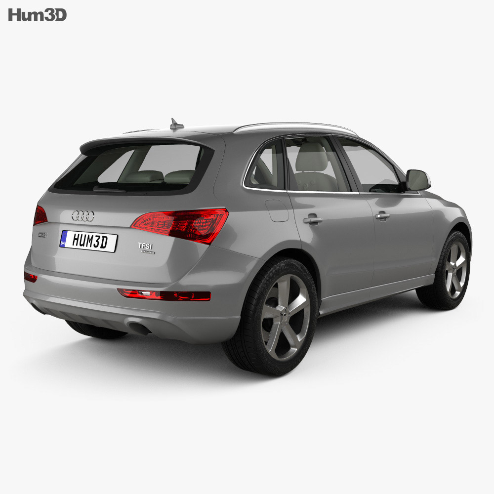 Audi Q5 with HQ interior 2013 3d model