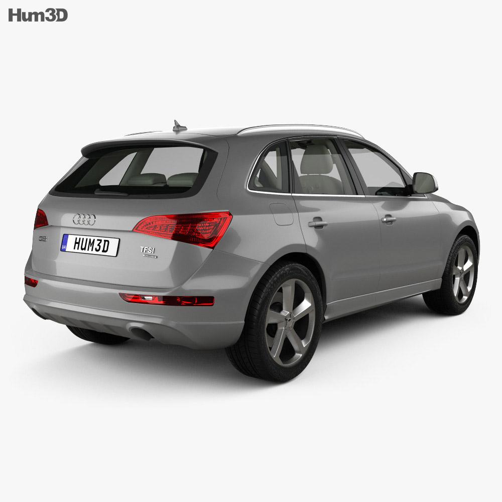 Audi Q5 With HQ Interior 2013 3D Model