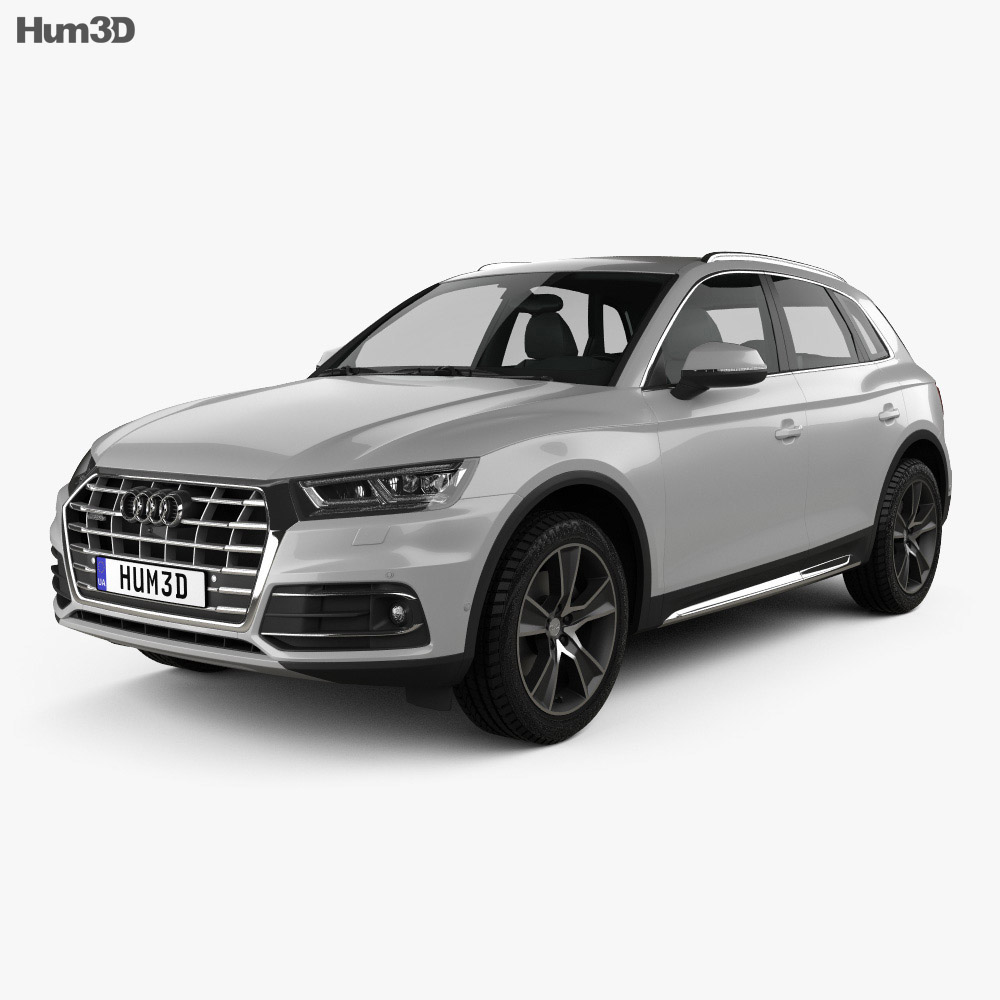 audi q5 2016 3d model vehicles on hum3d. Black Bedroom Furniture Sets. Home Design Ideas