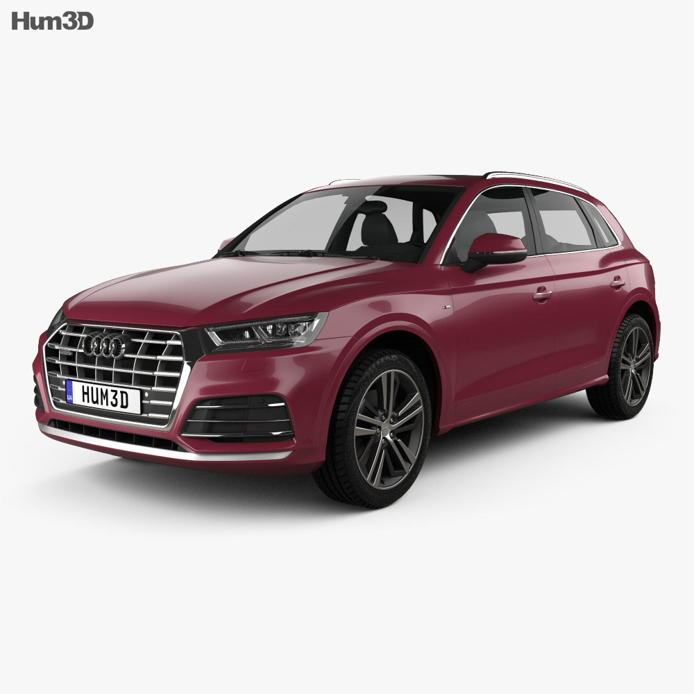2019 Audi Q5: Audi Q5 L S-line CN-spec 2018 3D Model