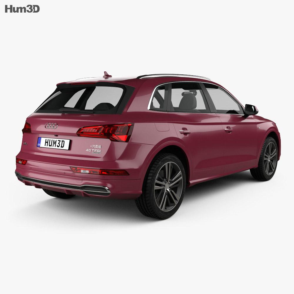 Audi Q5 L S-line CN-spec 2018 3d model