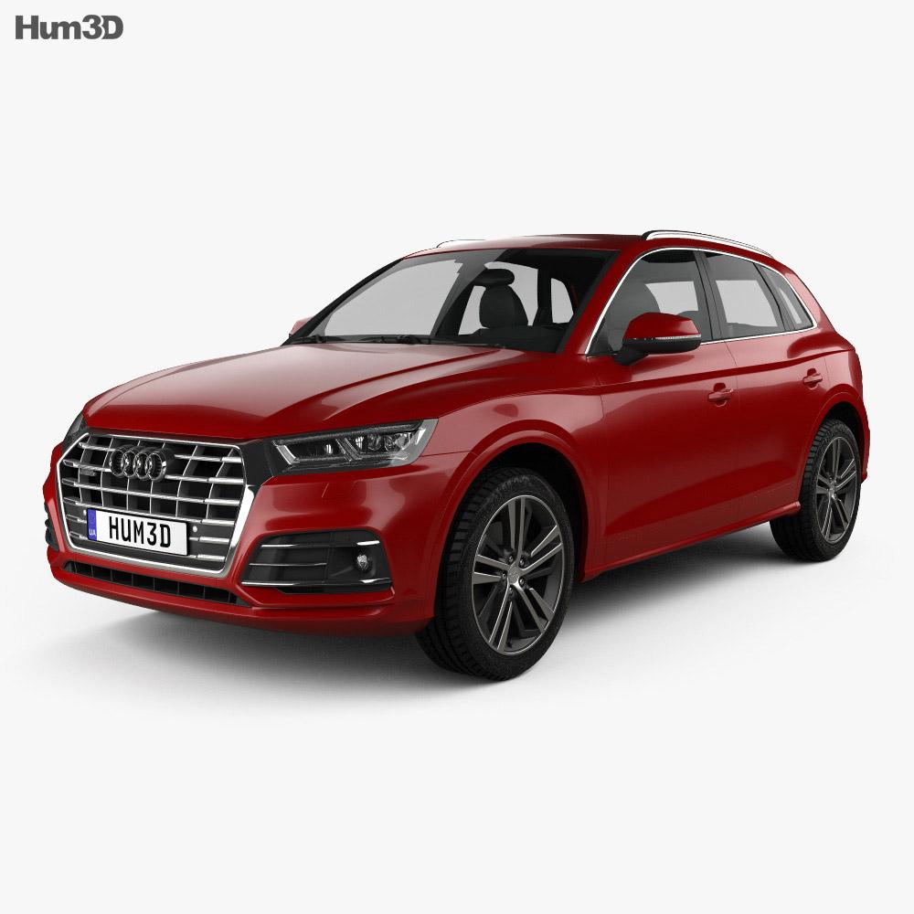 Q5 Price Audi: Audi Q5 S-Line 2016 3D Model