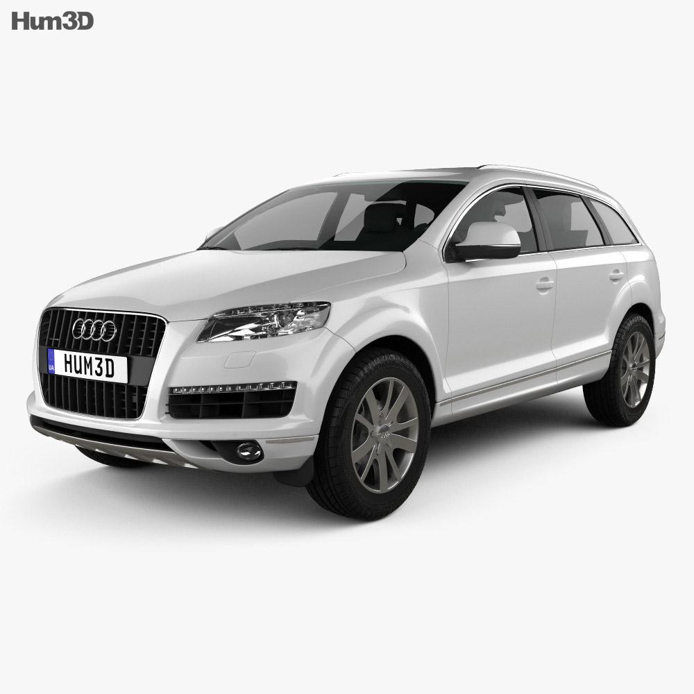 Audi Q7 2010 3D Model