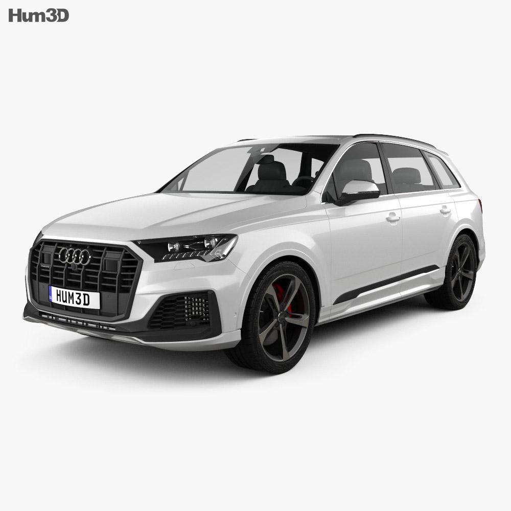Audi Q7 S-line 2019 3d model