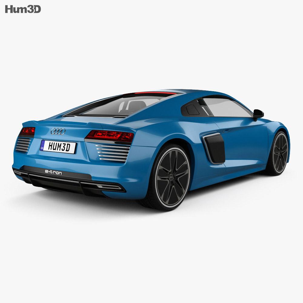 Audi R8 e-tron 2016 3d model