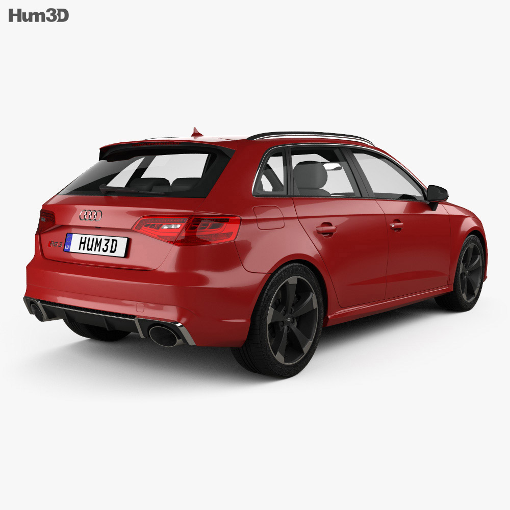 Audi RS3 Sportback 2015 3d model