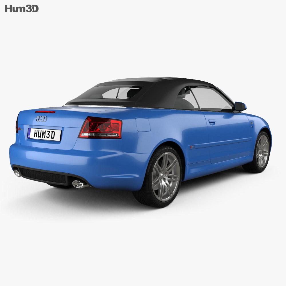 Audi RS 4 Convertible 2006 3D Model