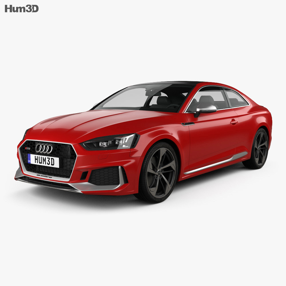Audi RS5 Coupe 2017 3d model