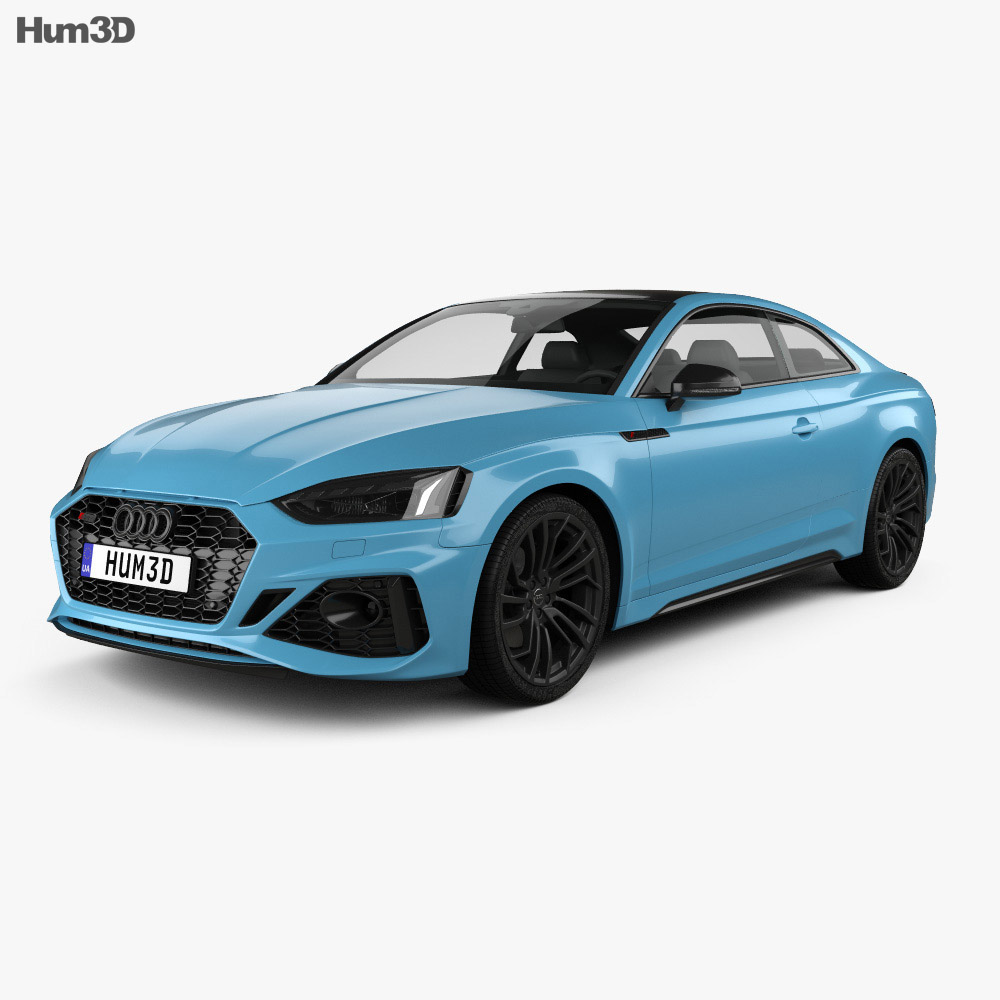 3D model of Audi RS5 coupe 2019