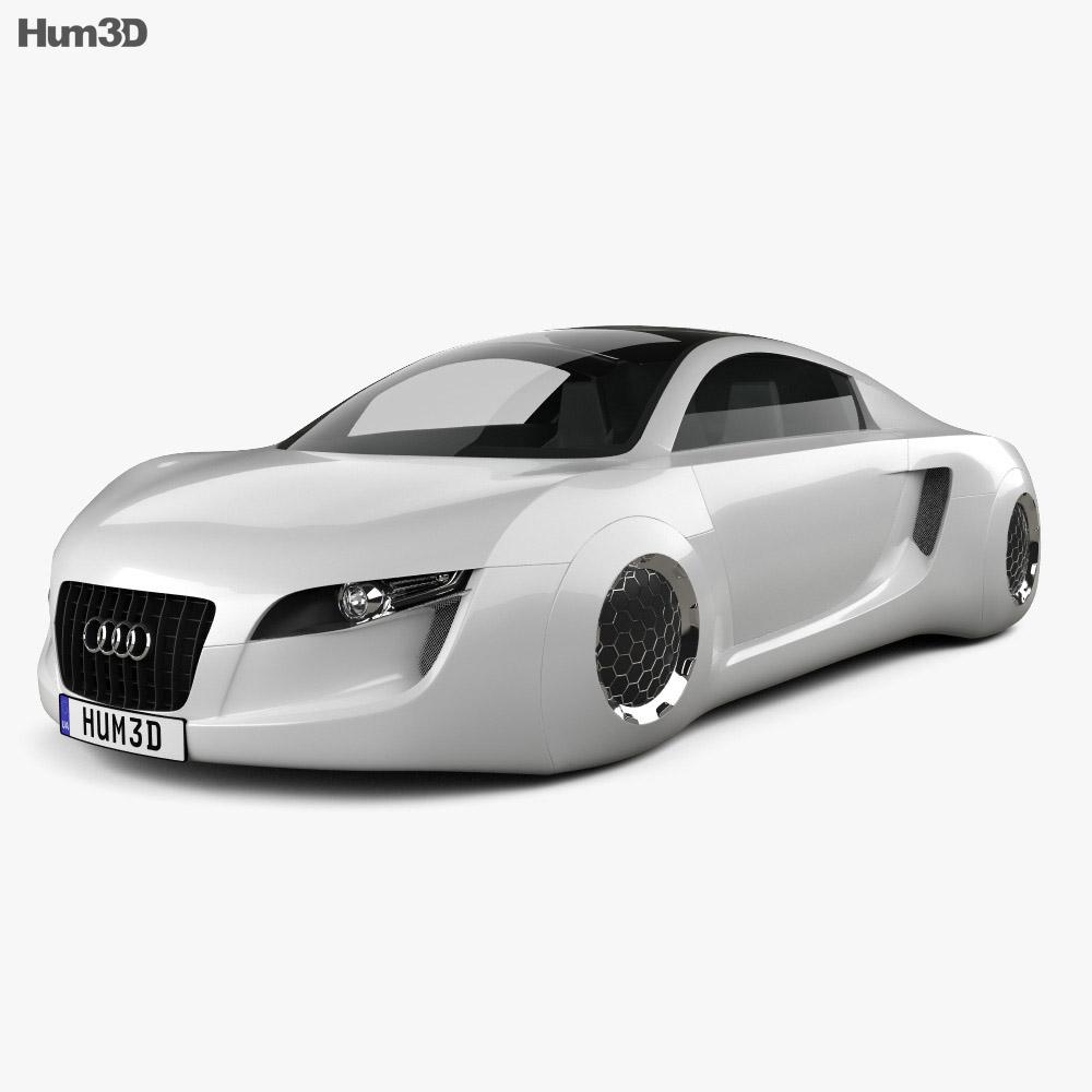 Audi RSQ 2004 3d model