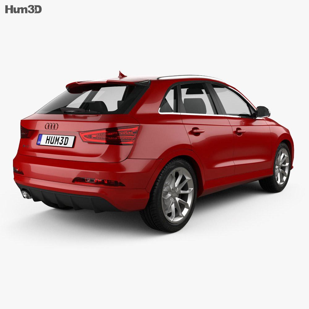 Audi RS Q3 2013 3d model