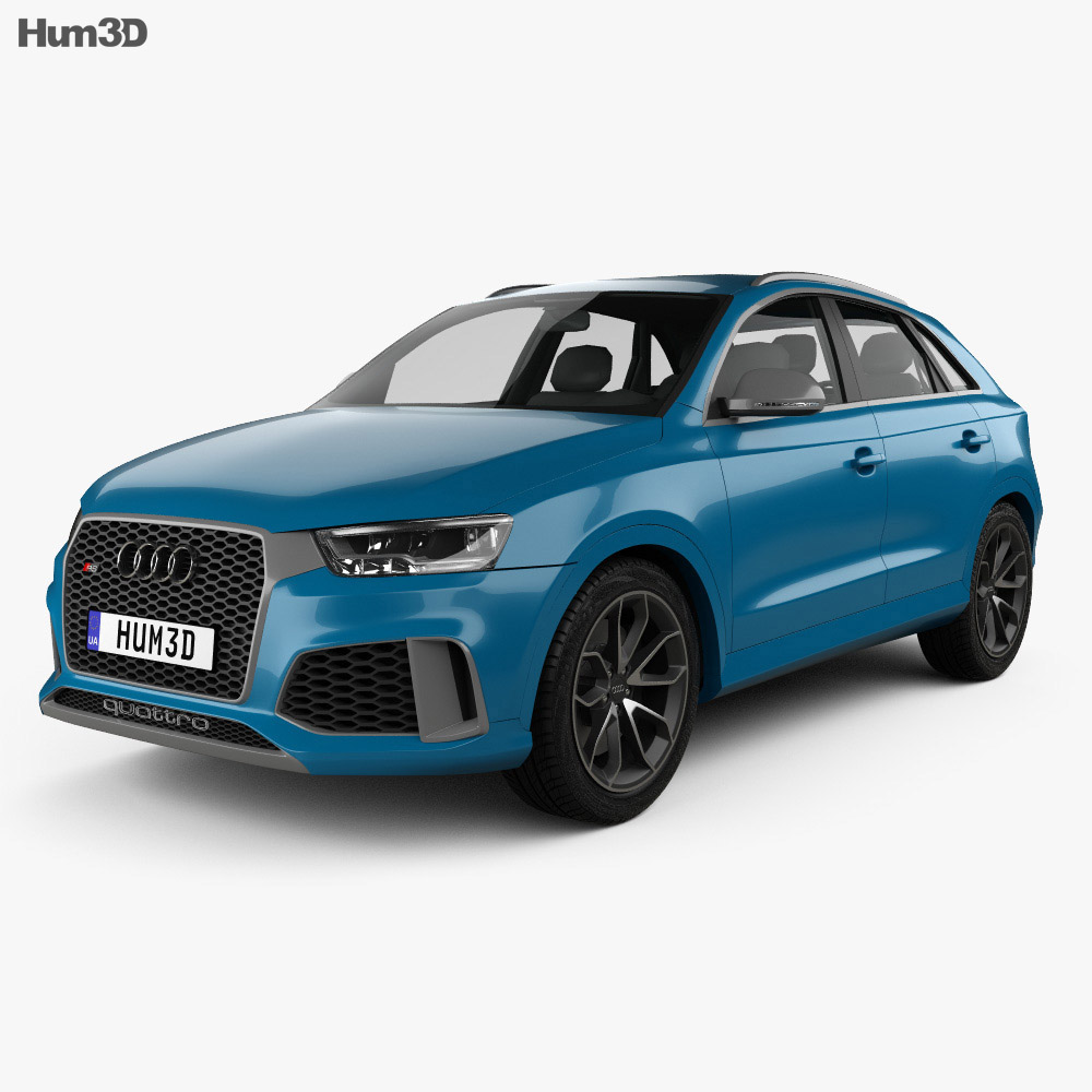 Audi RS Q3 Performance 2017 3d model