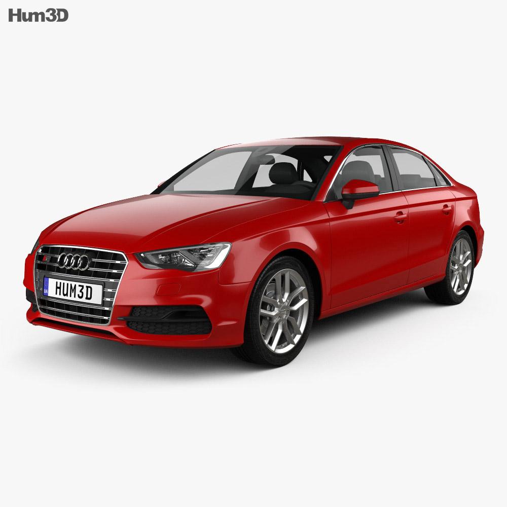 Audi S3 2013 3d model