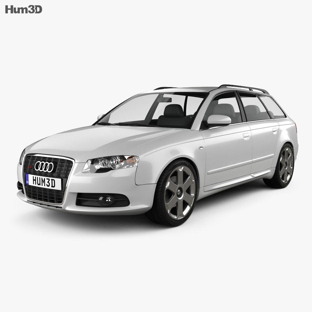 Audi S4 Avant 2005 3d model
