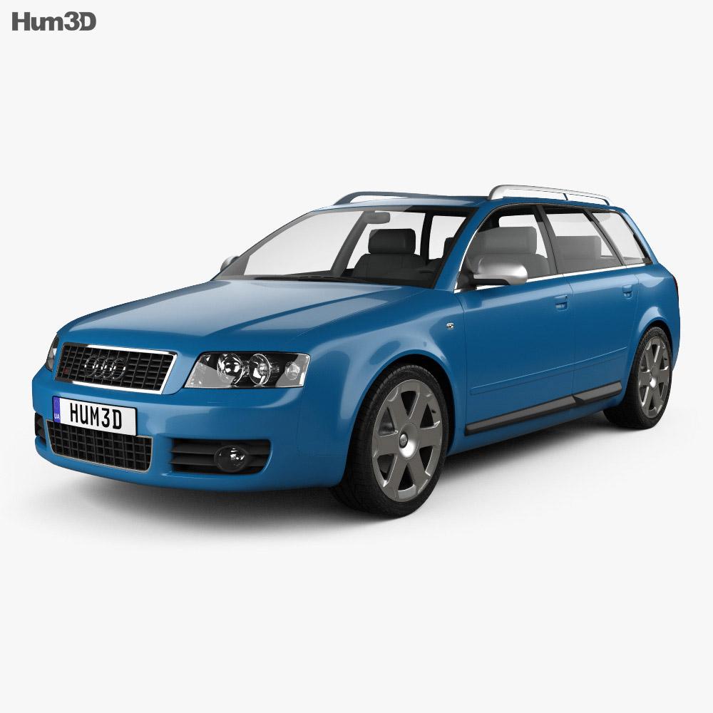 Audi S4 Avant 2003 3d model