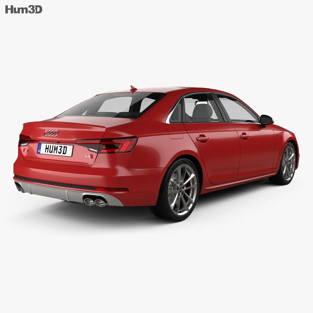 Audi S4 2016 3d model