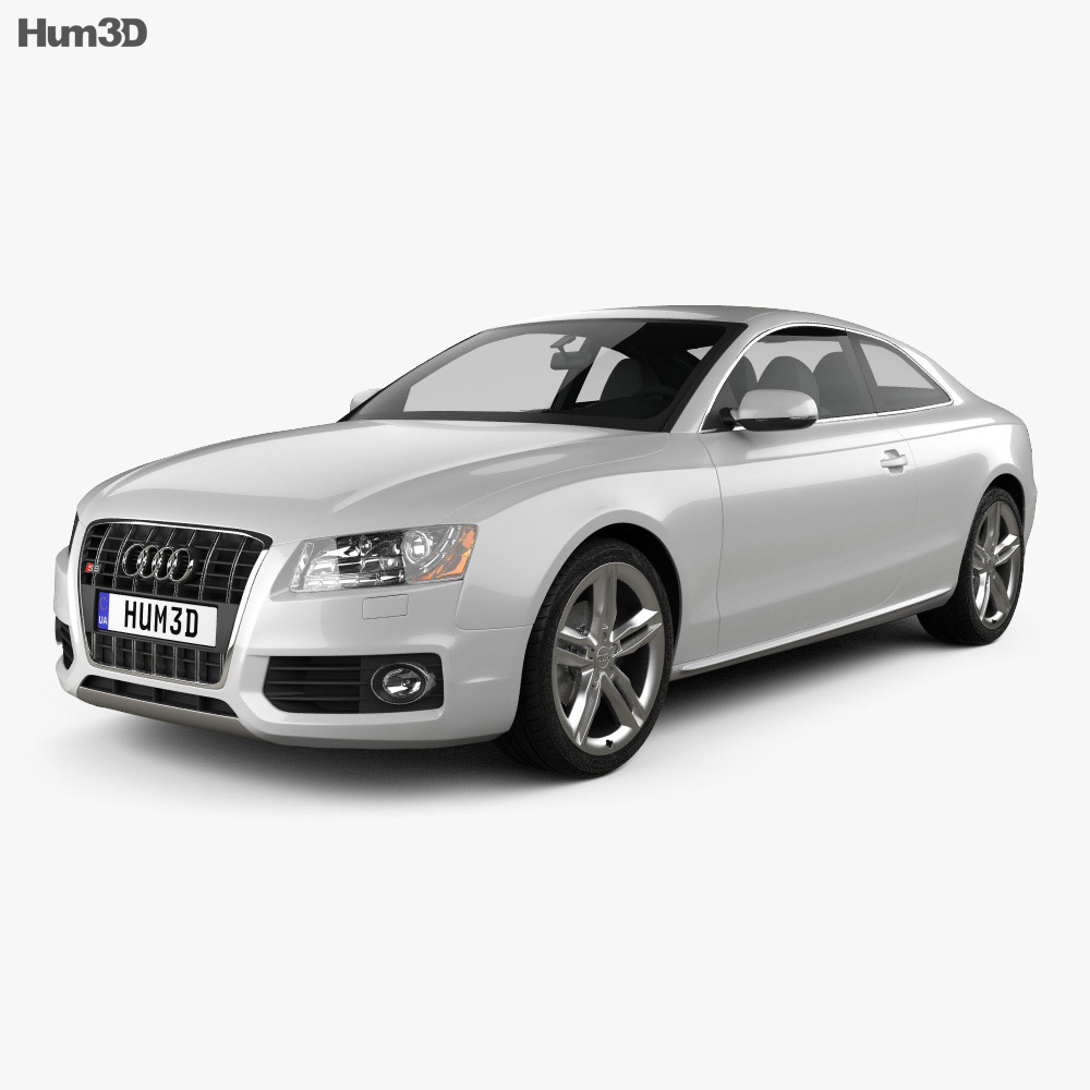 Audi S5 coupe 2010 3d model