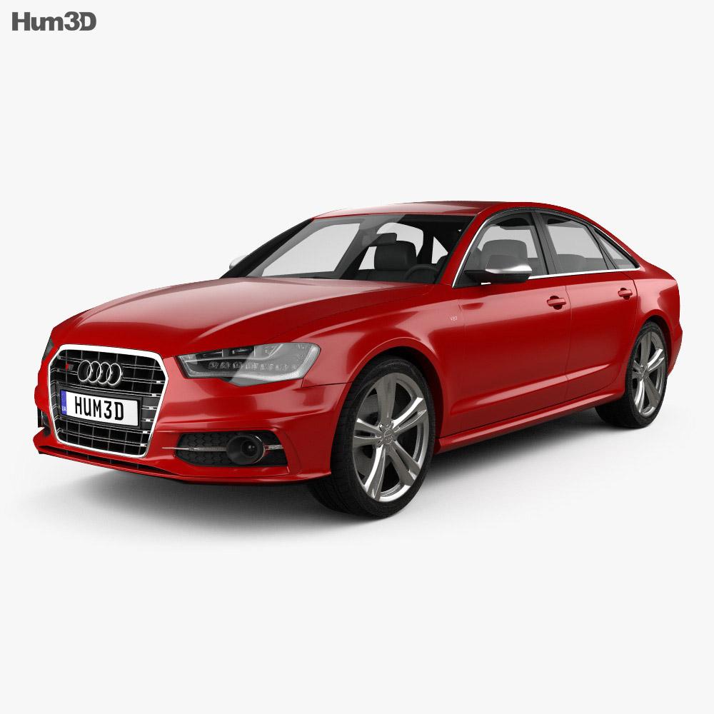 Audi S6 (C7) saloon 2012 3d model