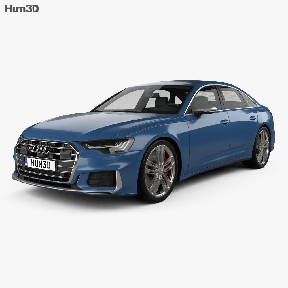 Audi S6 sedan 2019 3d model