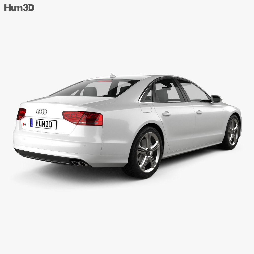 Audi S8 2013 3d model