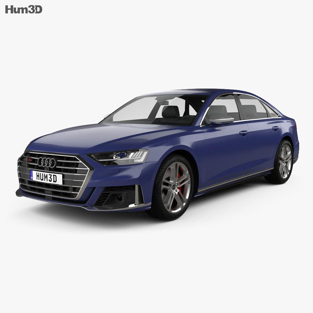 Audi S8 L 2020 3d model