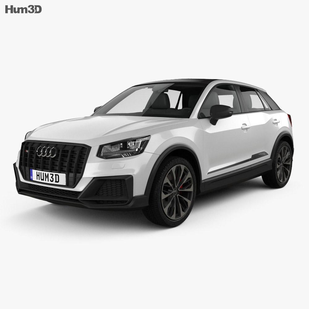 Audi SQ2 2019 3d model