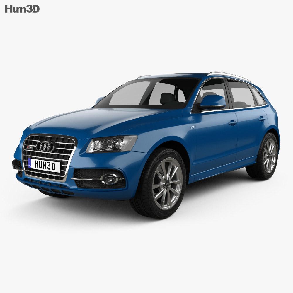 Audi SQ5 2013 3d model