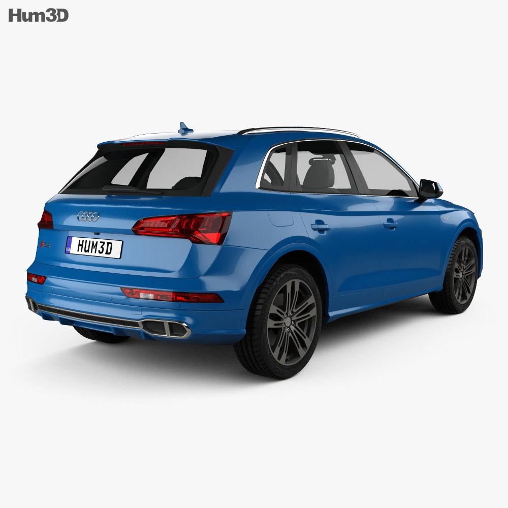 Audi SQ5 2017 3d model