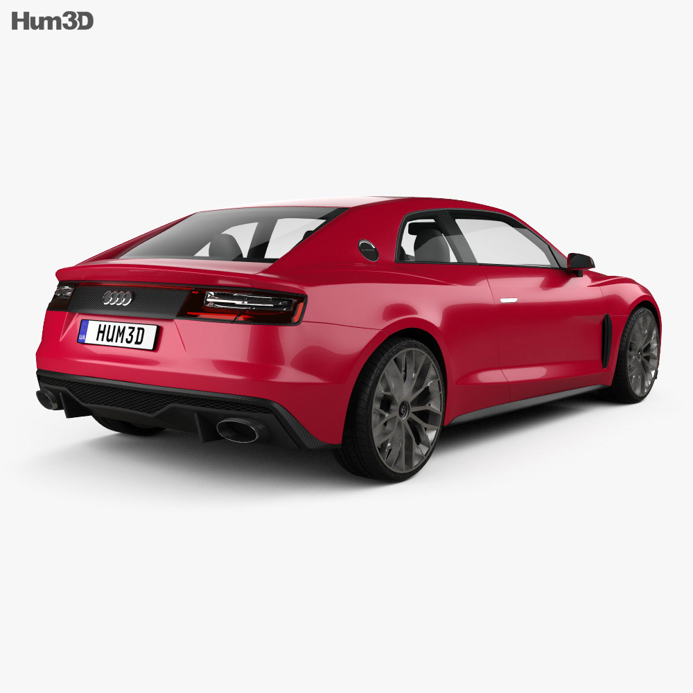 Audi Sport Quattro Laserlight 2014 3d model